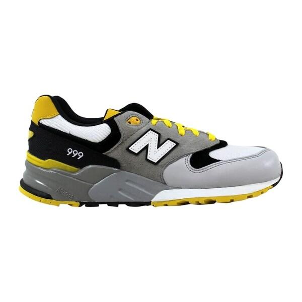 new balance yellow mens trainers