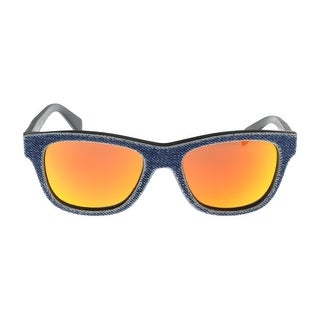 Diesel DL0111 5290U Denim Square Sunglasses - 52-18-140