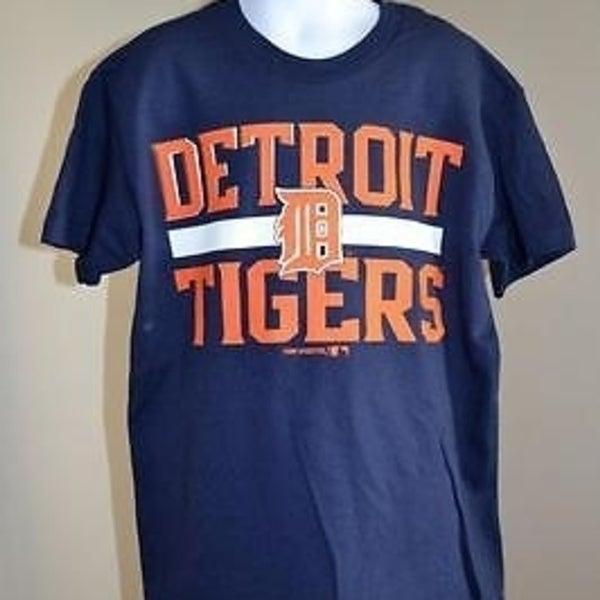 new styles 4d6d8 618b9 Minor Flaw - Mlb Detroit Tigers Youth Medium (M) Navy Blue T- Shirt 66Tt