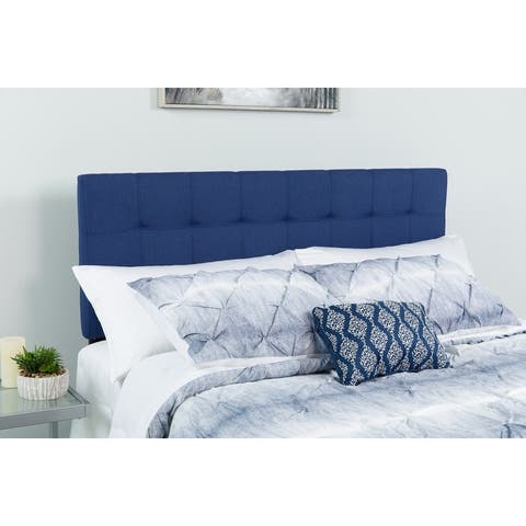 Quilted Tufted Upholstered Headboard