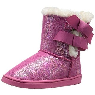 Rampage Lil Beatrix Faux Leather Toddler Girls Boots