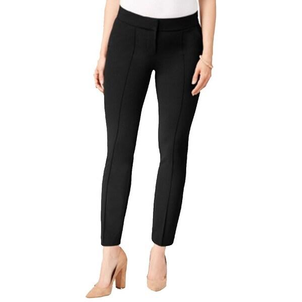 XOXO Black Womens Size 10 Natalie Skinny Dress Pants Stretch