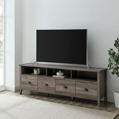 The Gray Barn 70-Inch 4-Drawer TV Stand Console