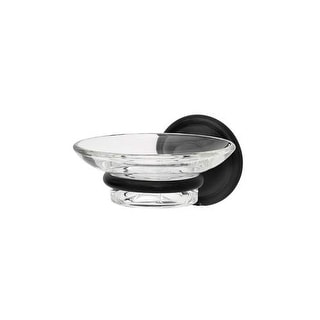 Alno A9230 Wall Mounted Glass Soap Dish from the Yale Collection