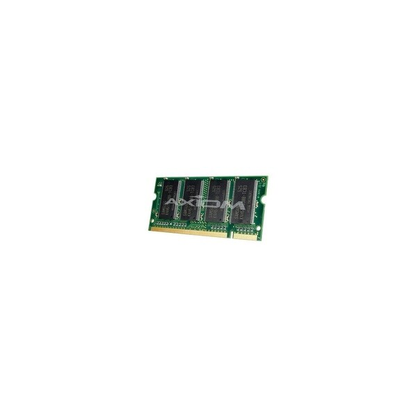 Axion A0743530-AX Axiom 1GB DDR SDRAM Memory Module - 1GB - 333MHz DDR333/PC2700 - DDR SDRAM - 200-pin SoDIMM