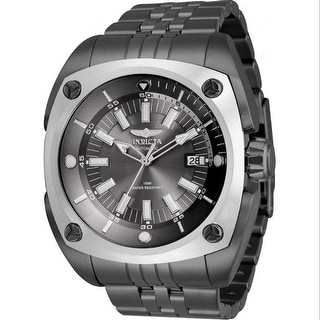 Link to Invicta Men's 32067 'Reserve' Automatic Charcoal Stainless Steel Watch - Black Similar Items in Men's Watches