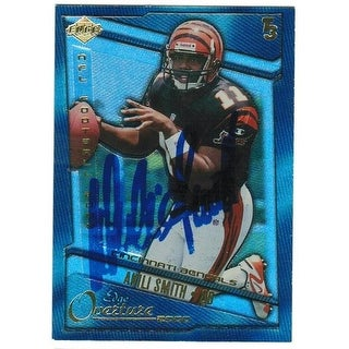 Akili Smith Cincinnati Bengals 2000 Edge Overture Autographed Card