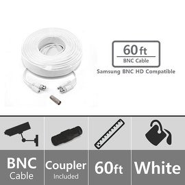 Soltech STS-AHDC60 60ft BNC Video/Power Cable