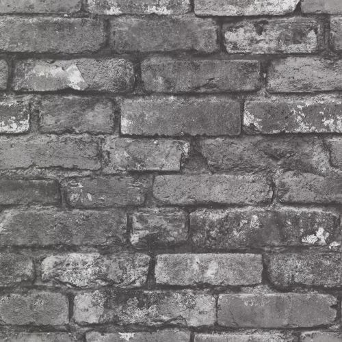 Brewster 2604-21260 Oxford 56 Square Foot Exposed Brick Imitating Wallpaper - One Roll