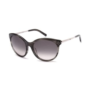Chloe Women's Cat Eye Sunglasses Striped Grey - Small