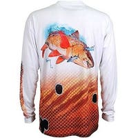 Guy Harvey Mens Redfish Mens L/S