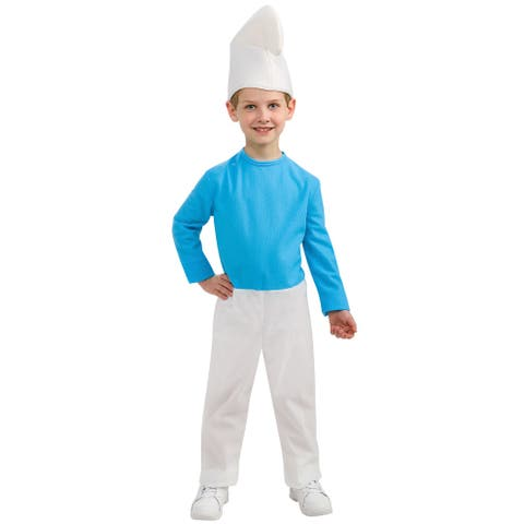 Rubies Smurf Child Costume - Blue/White