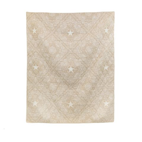 Donna Sharp's Texas Brown Bandana Throw