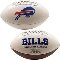 Buffalo Bills Embroidered Logo Signature Series Football