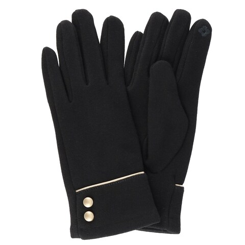 Top it off Women's Felicity Gloves with Gold Accents