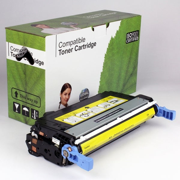 Value Brand replacement for HP 643A Yellow Toner Q5952A (10,000 Yield)