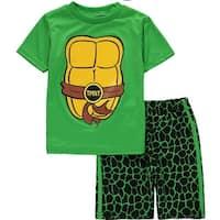 Nickelodeon Boys 2T-4T Teenage Mutant Ninja Turtles Short Set