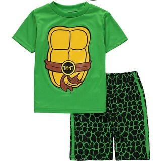 Nickelodeon Boys 2T-4T Teenage Mutant Ninja Turtles Short Set (2 options available)