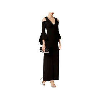 Xscape Womens Evening Dress Cold-Shoulder Special Occasion