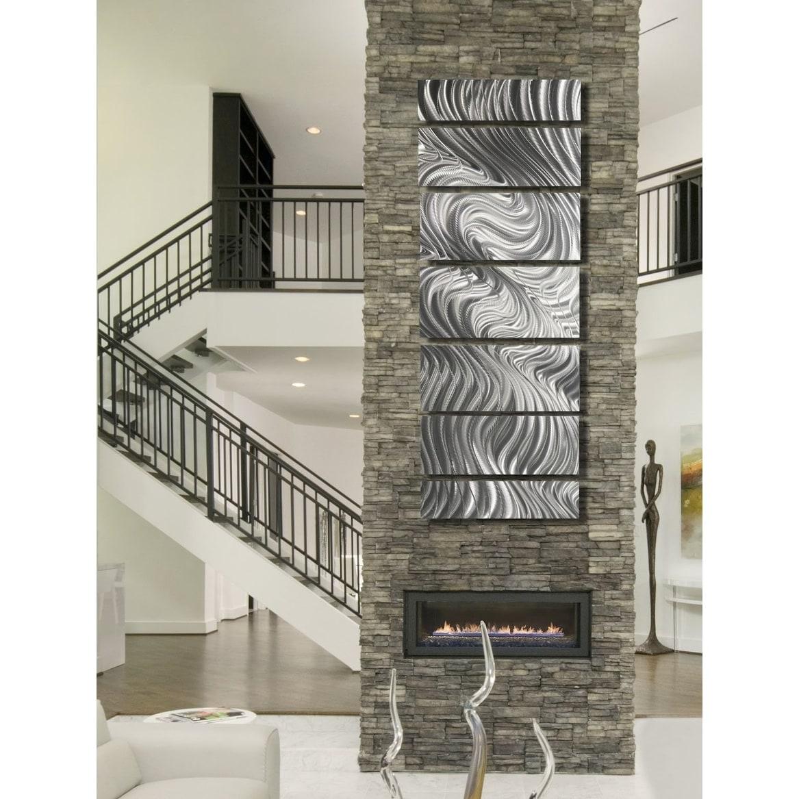 Shop Statements2000 Silver Metal Wall Art Panels Indoor ...