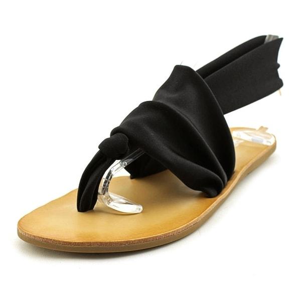Dirty Laundry Bright Spot Women Shimmer Black Sandals