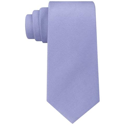 Kenneth Cole Mens Textured Self-Tied Necktie - One Size