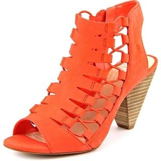 Vince Camuto Eliaz Women Open Toe Leather Sandals