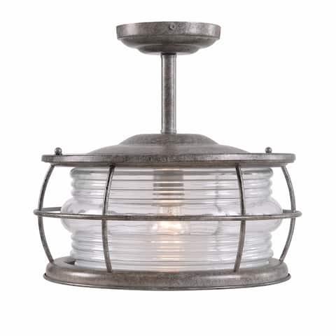 Ray 1-Light Convertible Semi Flush Mount