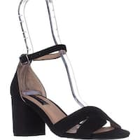 STEVEN Steve Madden Voomme Dress Sandals, Black Suede