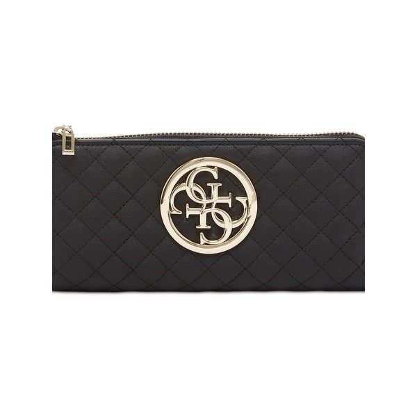 Shop Guess Womens G Lux Clutch Wallet Quilted Faux Leather - o s - Free  Shipping On Orders Over  45 - Overstock.com - 20671474 a024a7480a727