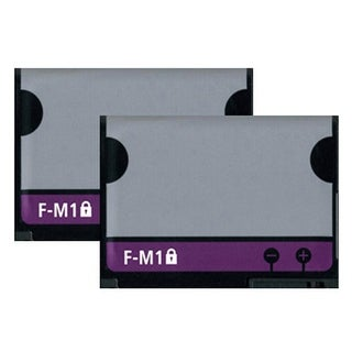 Replacement Battery For Blackberry F-M1 (2 Pack)
