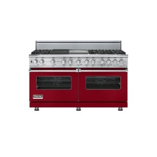 Viking VDSC5606GQLP 60 Inch Wide 8.2 Cu. Ft. Free Standing Dual Fuel Range with