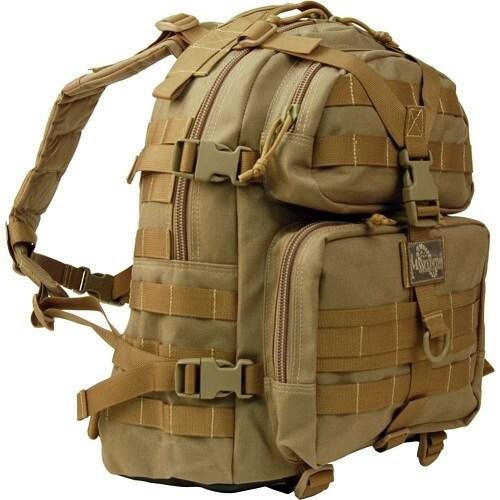 Maxpedition Khaki Condor II Nylon Tactical Backpack
