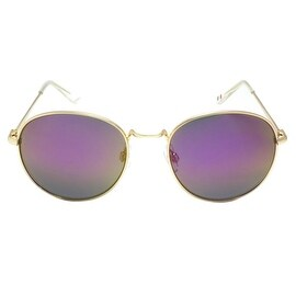 Purple Shades Gold Frame New Design Classy Look