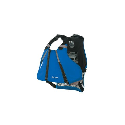 Onyx MoveVent Curve Paddle Sports Life Vest - XL/2X - Blue MoveVent Curve Paddle Sports Life Vest - XL/2X - Blue