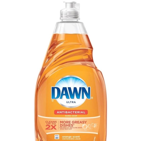 Dawn Ultra 91888 Antibacterial Dishwashing Liquid, Orange, 21.6 Oz