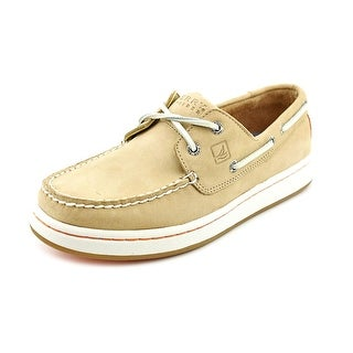 Sperry Top Sider Sperry Cup Moc Toe Leather Boat Shoe