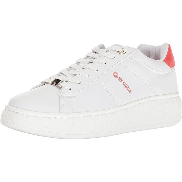 G by Guess Womens Charly Low Top Lace Up Fashion Sneakers
