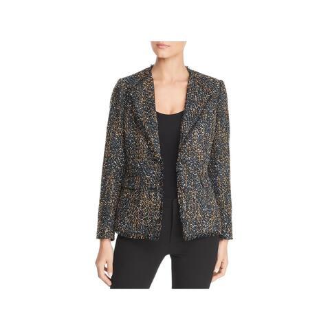 Karl Lagerfeld Womens Blazer Tweed Fall - 4