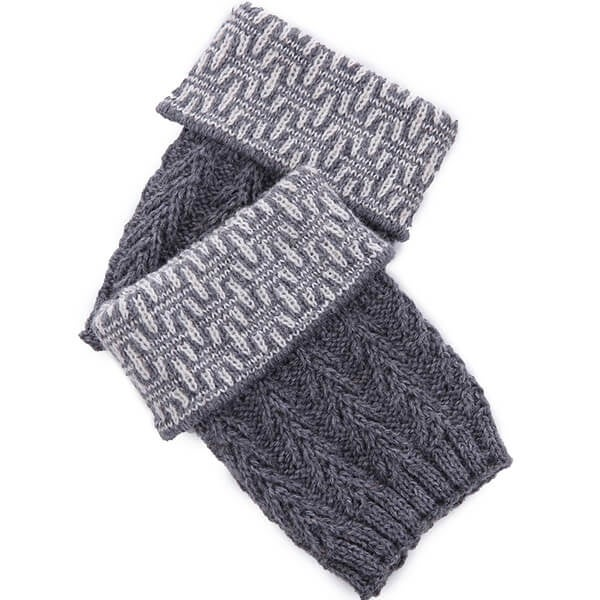 Mad Style Dresden Knit Boot Cuff