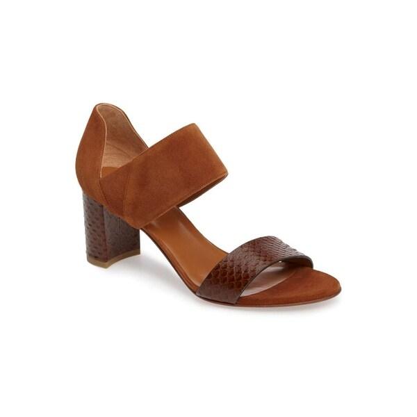 Aquatalia Womens Suzanne Suede Open Toe Casual Ankle Strap Sandals - 9