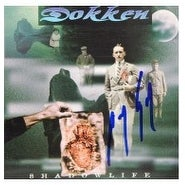 Signed Lynch George Dokken ShadowLife Used CD Cover Only Includes CD Case autographed