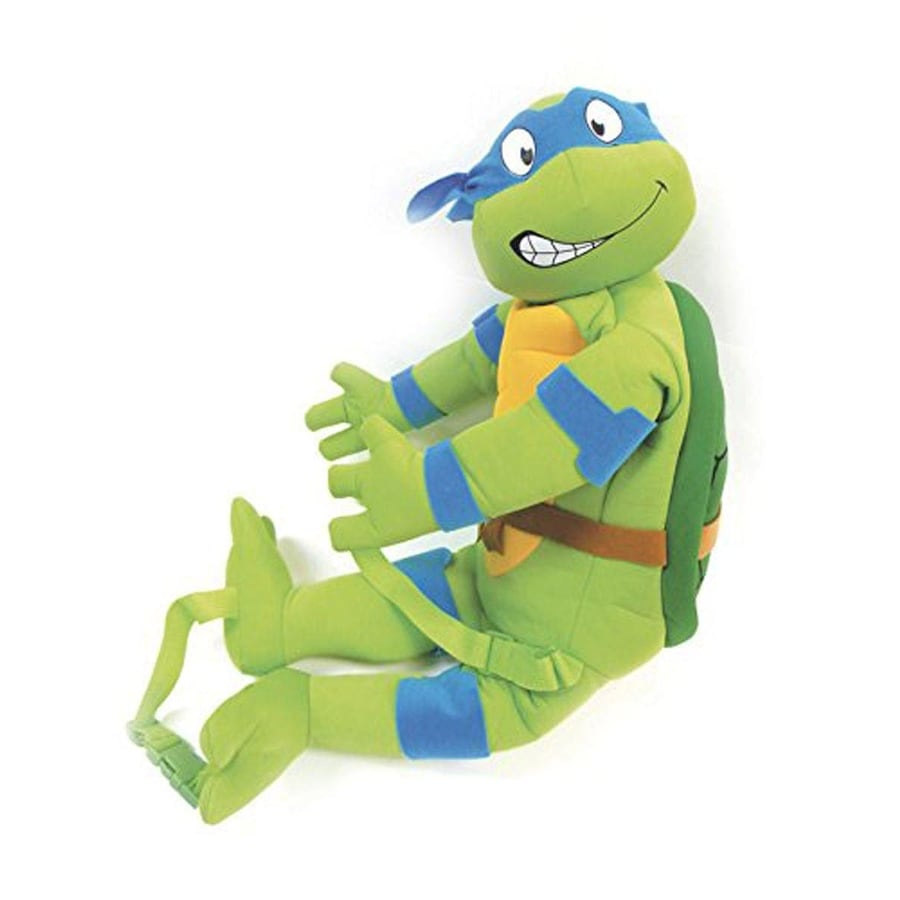 Shop Comic Images Teenage Mutant Ninja Turtles Leonardo Plush Backpack Multi Overstock 31412168