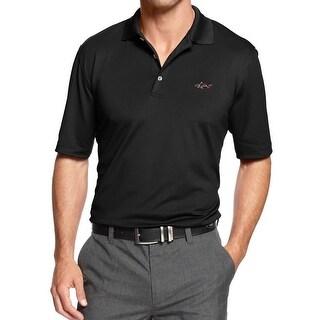 Greg Norman Mens Big & Tall Polo Shirt Solid Short Sleeves