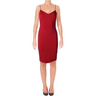1.State Womens Slip Dress Sleeveless V-Neck