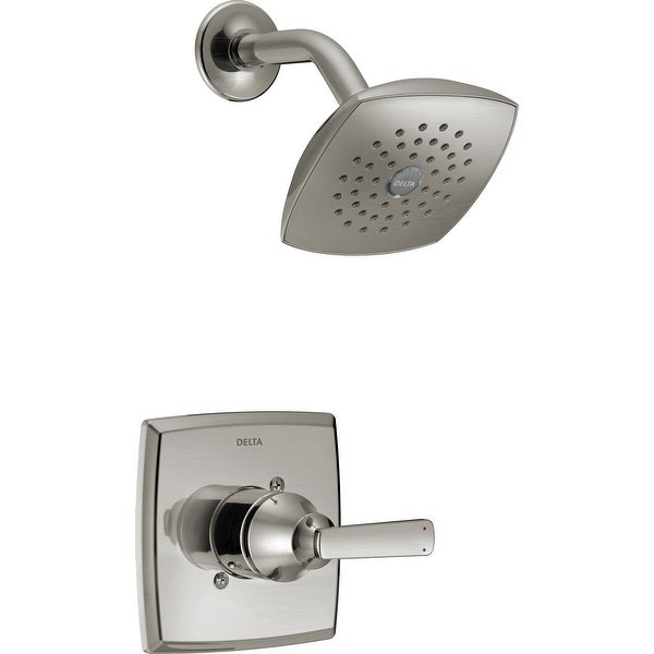 Delta T14264 Ashlyn Monitor 14 Series Single Function Pressure Balanced Shower Trim Package with Touch Clean Shower Head