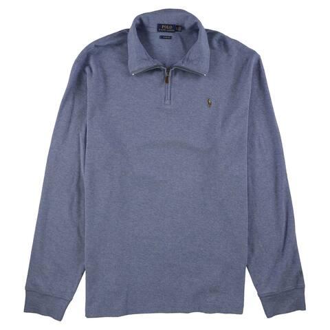 Ralph Lauren Mens Mock-Neck Sweatshirt