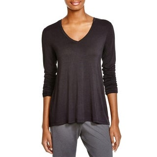 Josie Womens Casual Top Knit Solid