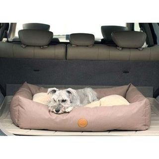 "K&H Pet Products Travel / SUV Pet Bed Small Tan 24"" x 36"" x 7"""
