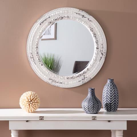 The Gray Barn Caiazo Traditional Wood Mirror